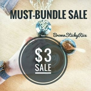 $3 MUST-BUNDLE SALE